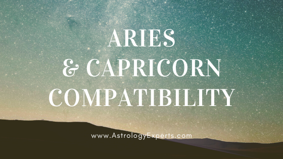 The compatibility of Aries and Capricorn Horoscopes