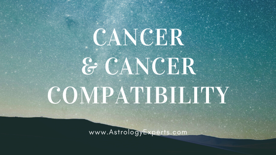 The compatibility of Cancer and Cancer Horoscopes