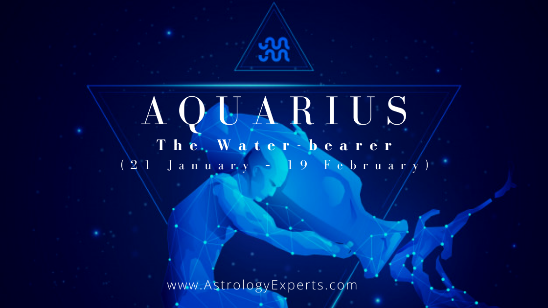 A guide on the Aquarius horoscope which is represented by the Water bearer.
